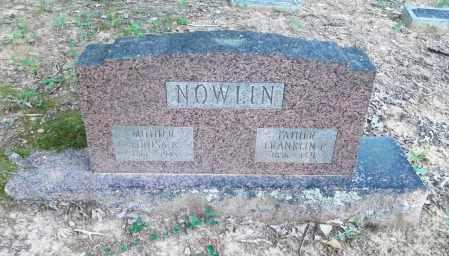 NOWLIN, FRANKLIN P - Pulaski County, Arkansas | FRANKLIN P NOWLIN - Arkansas Gravestone Photos
