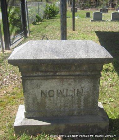 NOWLIN, MARY (BACK) - Pulaski County, Arkansas | MARY (BACK) NOWLIN - Arkansas Gravestone Photos