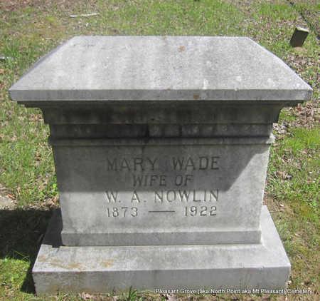 NOWLIN, MARY - Pulaski County, Arkansas | MARY NOWLIN - Arkansas Gravestone Photos