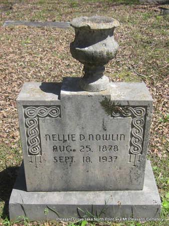 DODSON NOWLIN, NELLIE - Pulaski County, Arkansas | NELLIE DODSON NOWLIN - Arkansas Gravestone Photos