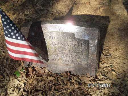 NOWLIN, ROBERT JAMES - Pulaski County, Arkansas | ROBERT JAMES NOWLIN - Arkansas Gravestone Photos