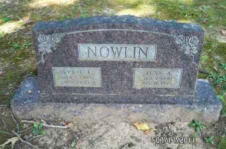 NOWLIN, JESS A - Pulaski County, Arkansas | JESS A NOWLIN - Arkansas Gravestone Photos