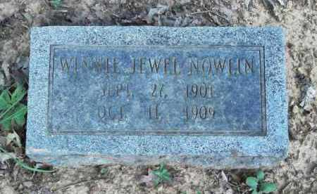 NOWLIN, WINNIE JEWEL - Pulaski County, Arkansas | WINNIE JEWEL NOWLIN - Arkansas Gravestone Photos