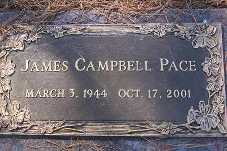 PACE, JAMES CAMPBELL - Pulaski County, Arkansas | JAMES CAMPBELL PACE - Arkansas Gravestone Photos