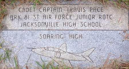 PACE, TRAVIS P - Pulaski County, Arkansas | TRAVIS P PACE - Arkansas Gravestone Photos