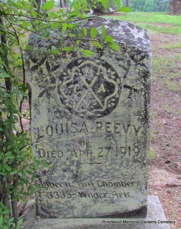PEEVY, LOUISA - Pulaski County, Arkansas | LOUISA PEEVY - Arkansas Gravestone Photos