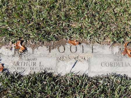 POOLE, ARTHUR L - Pulaski County, Arkansas   ARTHUR L POOLE - Arkansas Gravestone Photos
