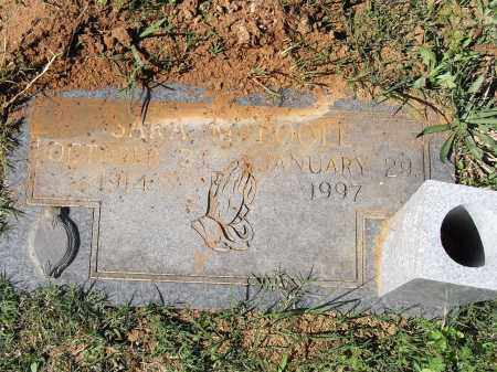 POOLE, SARA M - Pulaski County, Arkansas | SARA M POOLE - Arkansas Gravestone Photos