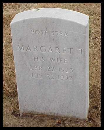 BROWN, MARGARET T - Pulaski County, Arkansas | MARGARET T BROWN - Arkansas Gravestone Photos