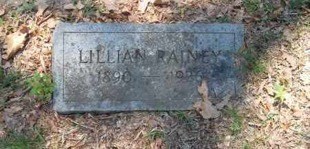RAINEY, LILLIAN - Pulaski County, Arkansas   LILLIAN RAINEY - Arkansas Gravestone Photos