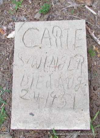 SWINGER, CARIE - Pulaski County, Arkansas   CARIE SWINGER - Arkansas Gravestone Photos