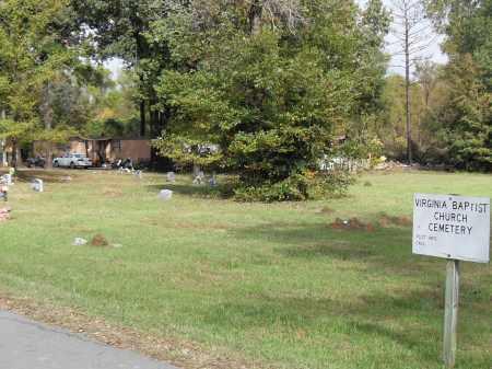 *VIRGINIA BAPTIST CEMETERY,  - Pulaski County, Arkansas |  *VIRGINIA BAPTIST CEMETERY - Arkansas Gravestone Photos