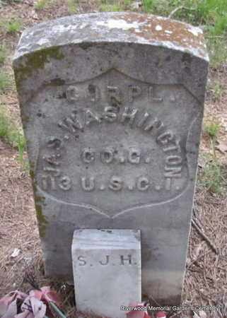 WASHINGTON (VETERAN UNION), JAS - Pulaski County, Arkansas | JAS WASHINGTON (VETERAN UNION) - Arkansas Gravestone Photos