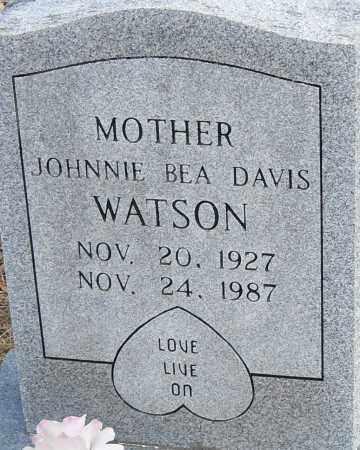 WATSON, JOHNNIE BEA - Pulaski County, Arkansas | JOHNNIE BEA WATSON - Arkansas Gravestone Photos