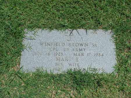 BROWN, MARY E - Pulaski County, Arkansas | MARY E BROWN - Arkansas Gravestone Photos