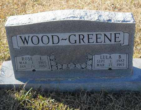 GREENE, LULA B - Pulaski County, Arkansas | LULA B GREENE - Arkansas Gravestone Photos