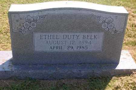 BELK, ETHEL - Randolph County, Arkansas | ETHEL BELK - Arkansas Gravestone Photos