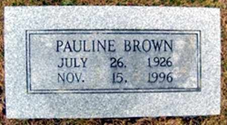 BROWN, AGNES PAULINE - Randolph County, Arkansas | AGNES PAULINE BROWN - Arkansas Gravestone Photos