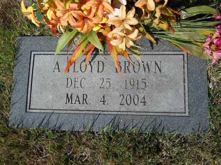 BROWN, A FLOYD - Randolph County, Arkansas | A FLOYD BROWN - Arkansas Gravestone Photos