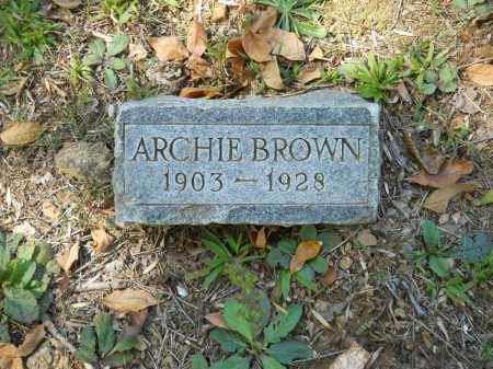 BROWN, ARCHIE - Randolph County, Arkansas | ARCHIE BROWN - Arkansas Gravestone Photos