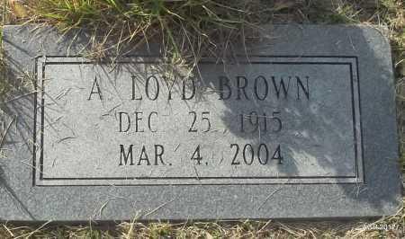 BROWN, ARTHUR LOYD - Randolph County, Arkansas   ARTHUR LOYD BROWN - Arkansas Gravestone Photos