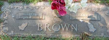 BROWN, BURLEY J. - Randolph County, Arkansas   BURLEY J. BROWN - Arkansas Gravestone Photos