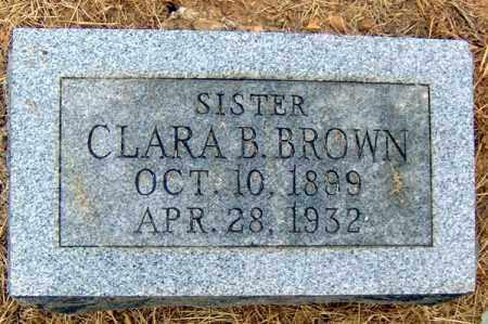 BROWN, CLARA B - Randolph County, Arkansas   CLARA B BROWN - Arkansas Gravestone Photos
