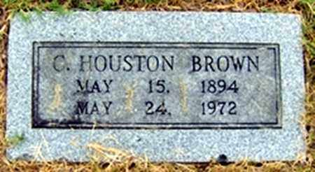 BROWN, CHARLES HOUSTON - Randolph County, Arkansas | CHARLES HOUSTON BROWN - Arkansas Gravestone Photos