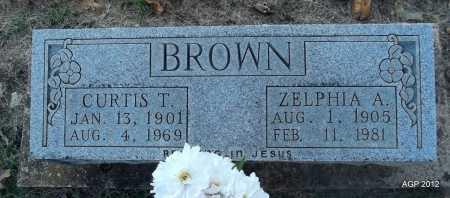 BROWN, ZELPHIA A - Randolph County, Arkansas   ZELPHIA A BROWN - Arkansas Gravestone Photos