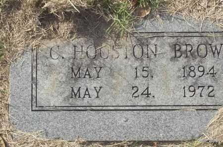 BROWN, C HOUSTON - Randolph County, Arkansas   C HOUSTON BROWN - Arkansas Gravestone Photos