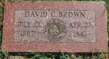 BROWN, DAVID CROCKETT - Randolph County, Arkansas   DAVID CROCKETT BROWN - Arkansas Gravestone Photos