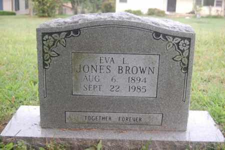 LEONARD JONES, EVA L. - Randolph County, Arkansas   EVA L. LEONARD JONES - Arkansas Gravestone Photos