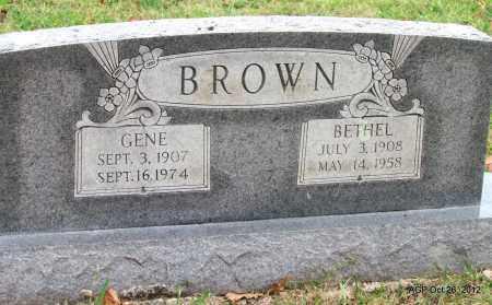 BROWN, BETHEL - Randolph County, Arkansas | BETHEL BROWN - Arkansas Gravestone Photos