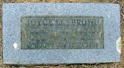 BROWN, JOYCE LEE - Randolph County, Arkansas   JOYCE LEE BROWN - Arkansas Gravestone Photos