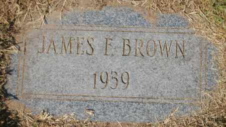 BROWN, JAMES F. - Randolph County, Arkansas | JAMES F. BROWN - Arkansas Gravestone Photos
