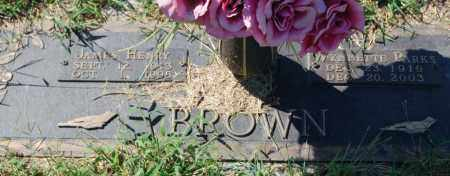 BROWN, WYNNETTE PARKS - Randolph County, Arkansas | WYNNETTE PARKS BROWN - Arkansas Gravestone Photos