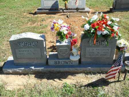 BROWN, J. D. PRESTON - Randolph County, Arkansas   J. D. PRESTON BROWN - Arkansas Gravestone Photos