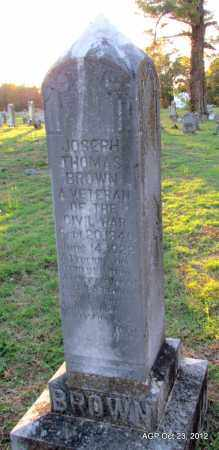 BROWN, JOSEPH THOMAS - Randolph County, Arkansas | JOSEPH THOMAS BROWN - Arkansas Gravestone Photos