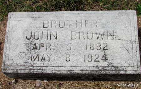 BROWN, JOHN - Randolph County, Arkansas | JOHN BROWN - Arkansas Gravestone Photos