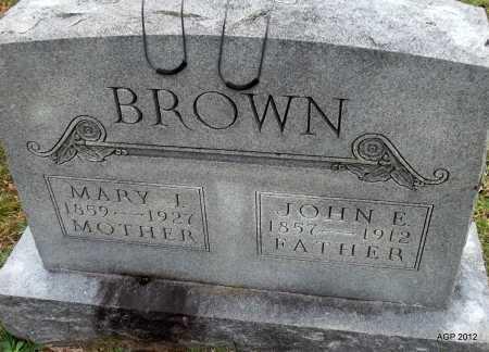 BROWN, MARY J - Randolph County, Arkansas | MARY J BROWN - Arkansas Gravestone Photos