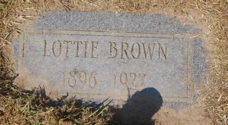 BROWN, LOTTIE - Randolph County, Arkansas | LOTTIE BROWN - Arkansas Gravestone Photos