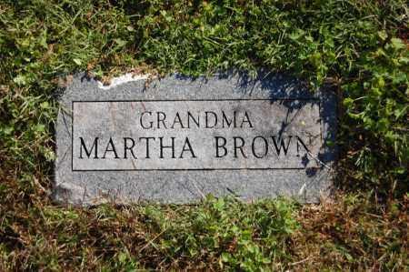 BROWN, MARTHA - Randolph County, Arkansas   MARTHA BROWN - Arkansas Gravestone Photos