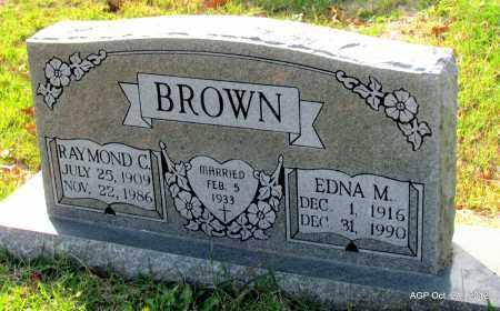 BROWN, EDNA M - Randolph County, Arkansas | EDNA M BROWN - Arkansas Gravestone Photos