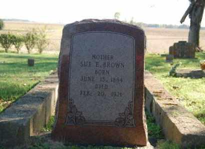 BROWN, SUE E. - Randolph County, Arkansas | SUE E. BROWN - Arkansas Gravestone Photos