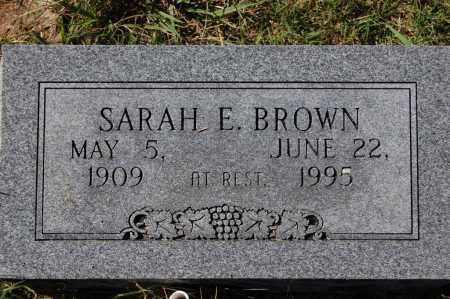BROWN, SARAH E. - Randolph County, Arkansas | SARAH E. BROWN - Arkansas Gravestone Photos
