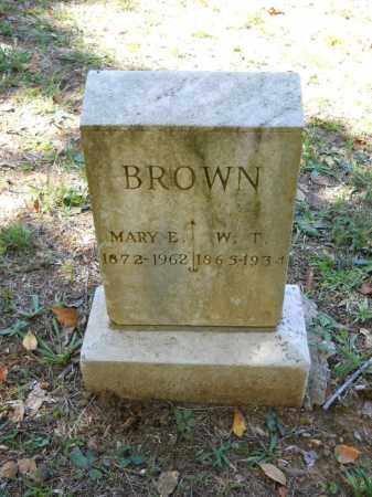 BROWN, MARY E - Randolph County, Arkansas | MARY E BROWN - Arkansas Gravestone Photos