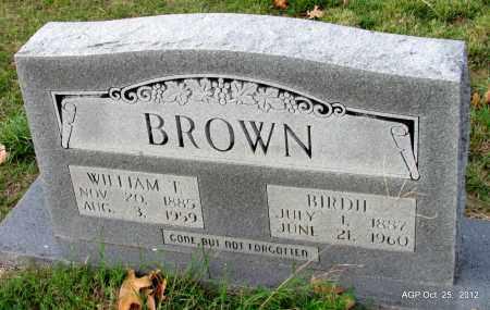 BROWN, BIRDIE - Randolph County, Arkansas | BIRDIE BROWN - Arkansas Gravestone Photos
