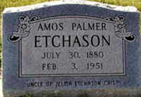 ETCHASON, AMOS PALMER - Randolph County, Arkansas   AMOS PALMER ETCHASON - Arkansas Gravestone Photos
