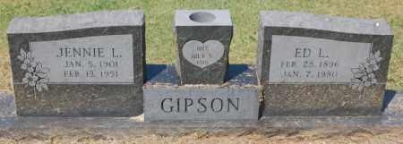 GIPSON, ED L. - Randolph County, Arkansas | ED L. GIPSON - Arkansas Gravestone Photos