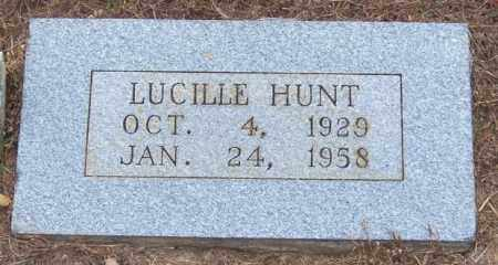 HUNT, LUCILLE - Randolph County, Arkansas | LUCILLE HUNT - Arkansas Gravestone Photos